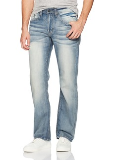 Buffalo Jeans Buffalo David Bitton Men's Driven-x Relaxed Straight Fit Stretch Fashion Denim Pant  40 x 34