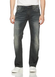 Buffalo Jeans Buffalo David Bitton Men's Driven-x Relaxed Straight Fit Vintage and Stretch Denim Pant