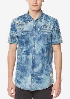 Buffalo Jeans Buffalo David Bitton Men's Dual Pocket Stretch Denim Shirt