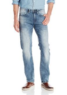 Buffalo Jeans Buffalo David Bitton Men's Evan Slimmer Fit Jean in Mercury  33x32