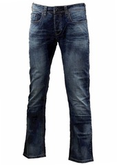 Buffalo Jeans Buffalo David Bitton Men's Evan Slimmer Fit Straight Leg Jean in Dasher  36x30