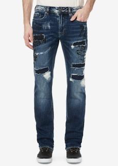 Buffalo Jeans Buffalo David Bitton Men's Evan-x Slim-Straight Fit Ripped Jeans