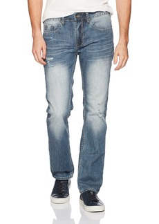 Buffalo Jeans Buffalo David Bitton Men's Evan-x Slim Straight Fit Stretch Fashion Denim Pant  34 x 32