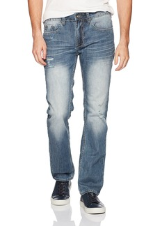 Buffalo Jeans Buffalo David Bitton Men's Evan-x Slim Straight Fit Stretch Fashion Denim Pant  38 x 30