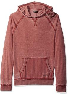 Buffalo Jeans Buffalo David Bitton Men's Faboat Pullover Hooded Fashion Lightweight Sweatshirt