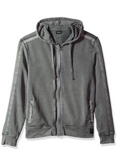 Buffalo Jeans Buffalo David Bitton Men's Facamo Long Sleeve Full Zip Hoodie Sweatshirt