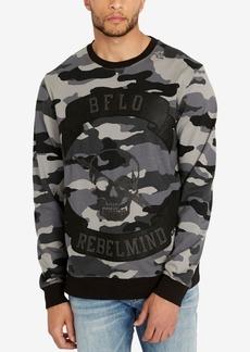 Buffalo Jeans Buffalo David Bitton Men's Faop Camouflage Applique Sweatshirt
