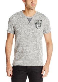 Buffalo Jeans Buffalo David Bitton Men's Faserat Short Sleeve French Terry Sweatshirt