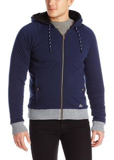 Buffalo Jeans Buffalo David Bitton Men's Findom Long Sleeve Zip Up Sherpa Lined Fleece Jacket