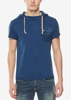 Buffalo Jeans Buffalo David Bitton Men's Graphic Hooded T-Shirt