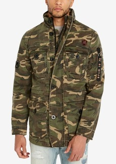 Buffalo Jeans Buffalo David Bitton Men's Jabren Camo Jacket