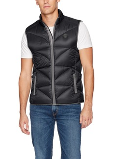 Buffalo Jeans Buffalo David Bitton Men's Jadan Nylon Full Zip Quilted Fashion Puffer Vest