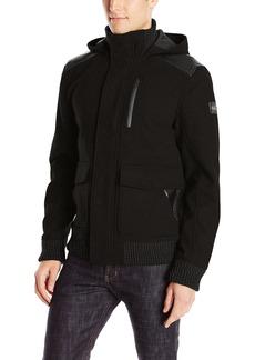 Buffalo Jeans Buffalo David Bitton Men's Jutania Light Wool Hooded Jacket