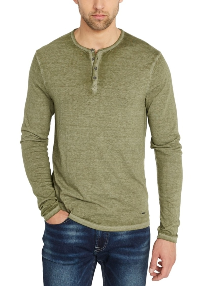 Buffalo Jeans Buffalo David Bitton Men's Kaduk Solid Henley