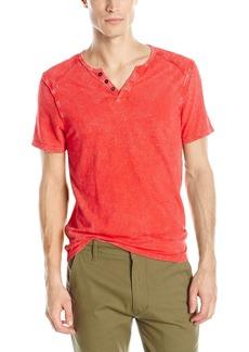 Buffalo Jeans Buffalo David Bitton Men's Karwayne Short Sleeve Henley Knit Shirt