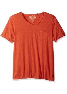 Buffalo Jeans Buffalo David Bitton Men's Kasim Vneck Short Sleeve Knit Tee Shirt jive