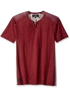 Buffalo Jeans Buffalo David Bitton Men's Kaslub Short Sleeve Henley Shirt