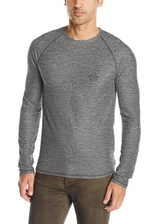 Buffalo Jeans Buffalo David Bitton Men's Kasoft Long Sleeve Crewneck Waffle Knit Shirt