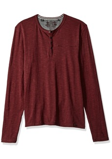 Buffalo Jeans Buffalo David Bitton Men's Katain Long Sleeve Henley Knit Shirt