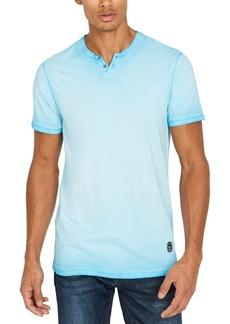 Buffalo Jeans Buffalo David Bitton Men's Kawind Jersey Knit Henley T-Shirt