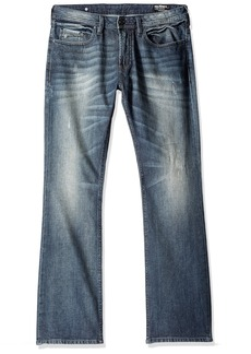 Buffalo Jeans Buffalo David Bitton Men's King Slim Boot Cut Jean In Sheeba 34-32