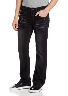 Buffalo Jeans Buffalo David Bitton Men's King Slim Bootcut Jean in Curshed and Brushed  36X32