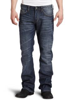 Buffalo Jeans Buffalo David Bitton Men's King Slim Boot Cut Jean Distressed And Worn 38x34