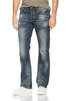 Buffalo Jeans Buffalo David Bitton Men's King-x Slim Boot Fit Dark Blue Fashion Denim Pant  32 x 32