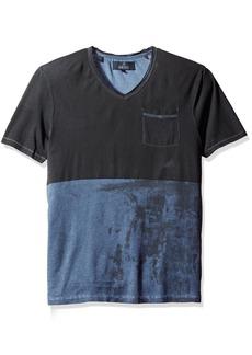 Buffalo Jeans Buffalo David Bitton Men's Kiprint Short Sleeve Vneck Fashion Knit Shirt