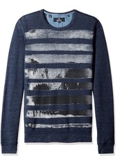 Buffalo Jeans Buffalo David Bitton Men's Kisports Long Sleeve Crew Neck Fashion Knit Shirt