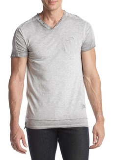 Buffalo Jeans Buffalo David Bitton Men's Kiyo Short Sleeve V Neck Tee