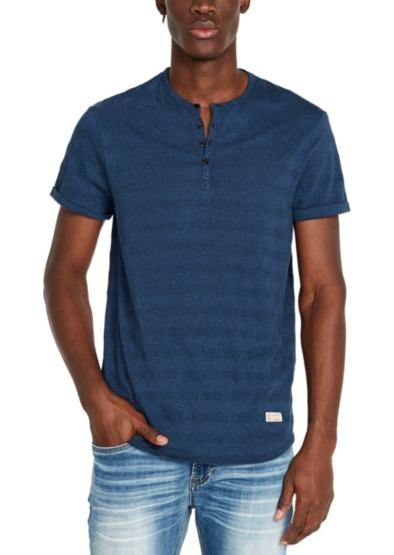 Buffalo Jeans Buffalo David Bitton Men's Kolton Striped Henley