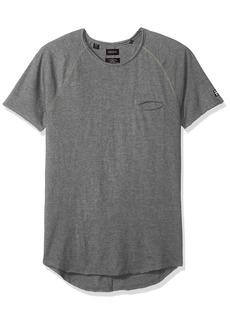 Buffalo Jeans Buffalo David Bitton Men's Kotail Short Sleeve Crew-Neck Solid Fashion Tee