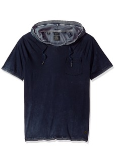 Buffalo Jeans Buffalo David Bitton Men's Kubell Short Sleeve Hooded Top