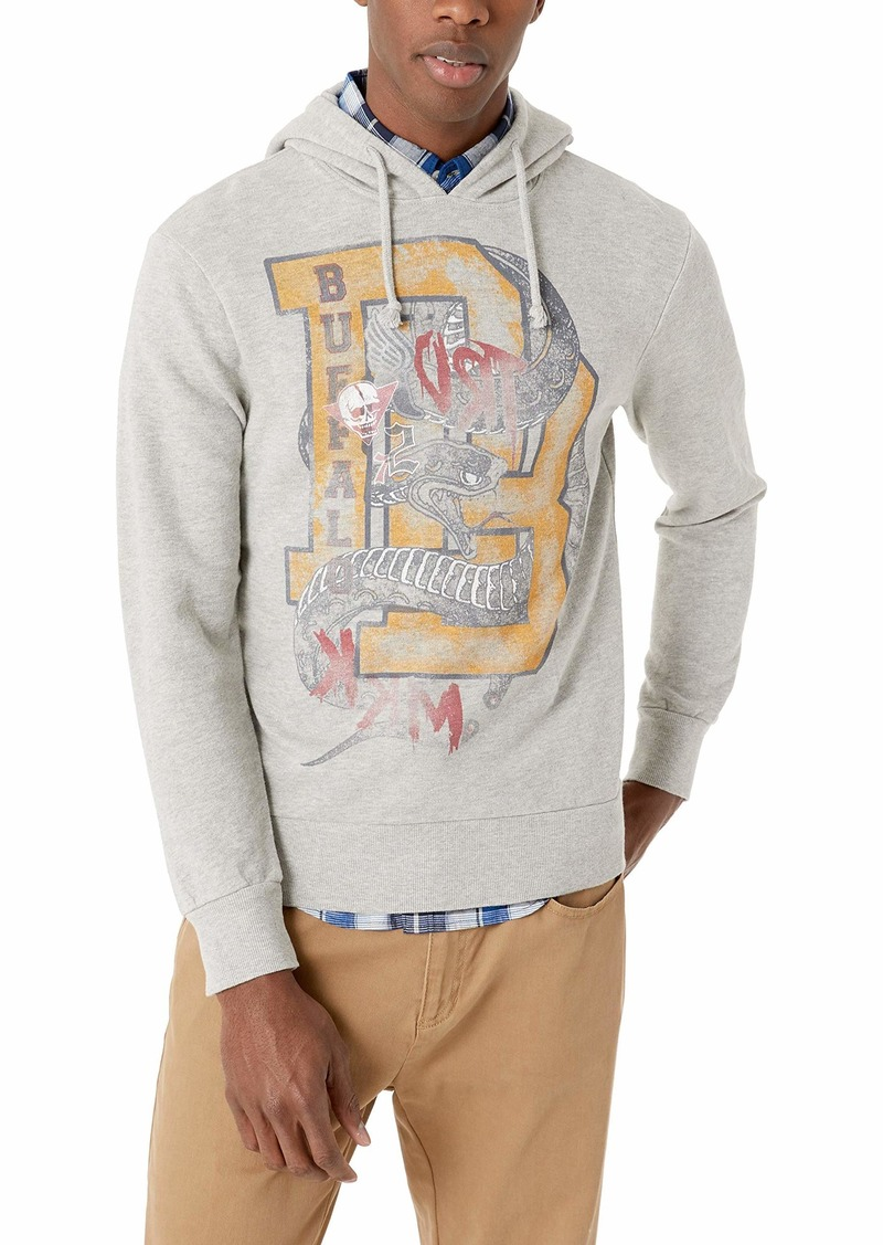 Buffalo Jeans Buffalo David Bitton Men's Long Sleeve French Terry Hoodie