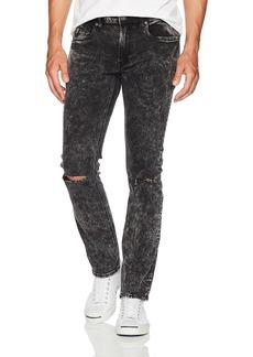 Buffalo Jeans Buffalo David Bitton Men's Max-x Skinny Fit Acid Wash Stretch Denim Fashion Pant