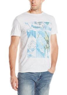 Buffalo Jeans Buffalo David Bitton Men's Nabony Short Sleeve Crew Neck Beach Graphic Tee Shirt