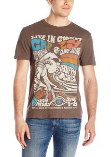 Buffalo Jeans Buffalo David Bitton Men's Nacop Short Sleeve Psychedelic Graphic T-Shirt