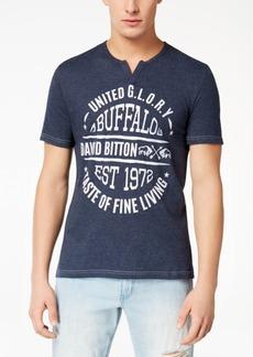 Buffalo Jeans Buffalo David Bitton Men's Najvand Graphic Split-Neck T-Shirt