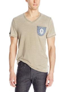 Buffalo Jeans Buffalo David Bitton Men's Nanoute Short Sleeve V-Neck Fashion Knit Shirt