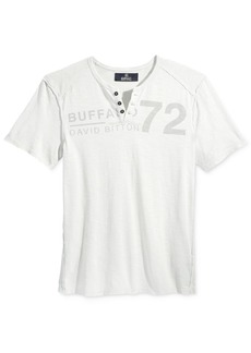 Buffalo Jeans Buffalo David Bitton Men's Narwayne Henley T-Shirt