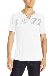 Buffalo Jeans Buffalo David Bitton Men's Narwayne Short Sleeve Henley Knit Shirt