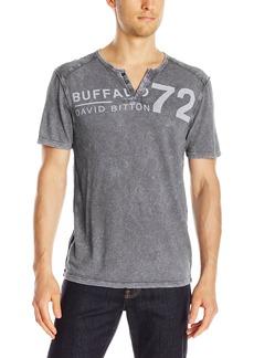 Buffalo Jeans Buffalo David Bitton Men's Narwayne Short Sleeve Henley Knit Shirt