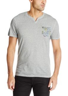 Buffalo Jeans Buffalo David Bitton Men's Nasowl Henley Pocket Fashion Knit Shirt