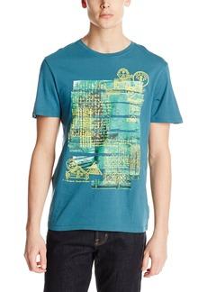 Buffalo Jeans Buffalo David Bitton Men's Nistle Short Sleeve Crew Neck Fashion Tee Shirt