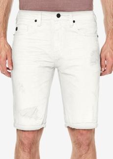 Buffalo Jeans Buffalo David Bitton Men's Parker Slim-Fit Destroyed Denim Shorts