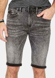 Buffalo Jeans Buffalo David Bitton Men's Parker-x Slim-Fit Stretch Acid-Wash Denim Shorts