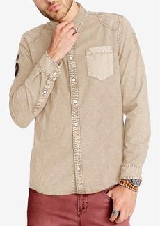 Buffalo Jeans Buffalo David Bitton Men's Patch Denim Shirt