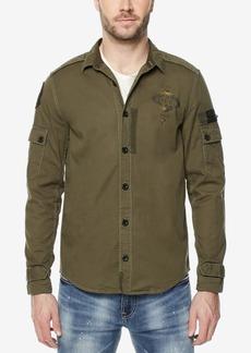 Buffalo Jeans Buffalo David Bitton Men's Pieced Cargo Shirt