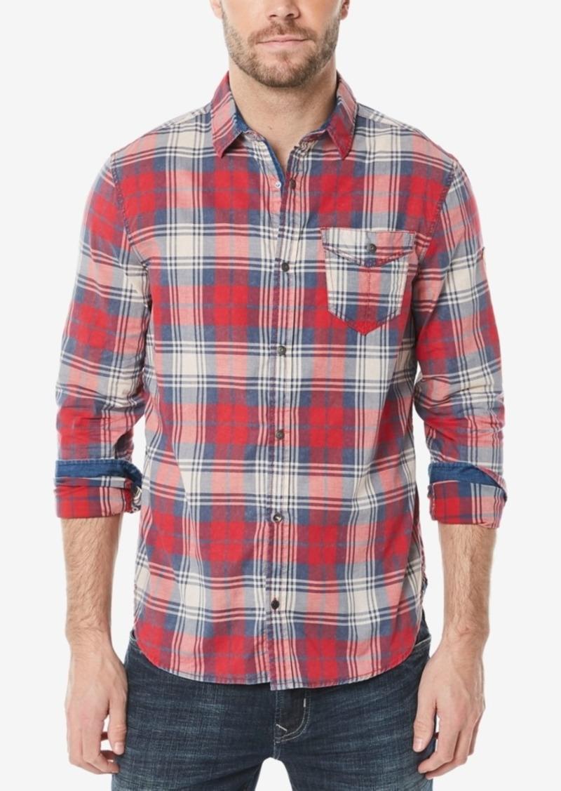 7d708f8448 Buffalo Jeans Buffalo David Bitton Men s Plaid Woven Shirt